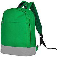 """Рюкзак """"URBAN"""",  зеленый/серый, 39х27х10 cм, полиэстер 600D"""