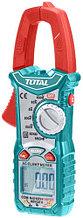 Мультиметр цифровой с клещями AC\DC TOTAL арт.TMT46003