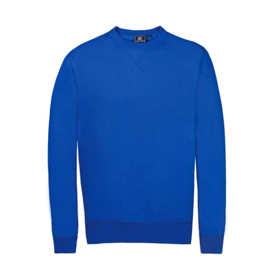 "Толстовка мужская ""Croazia"", ярко-синий, M, 60% хлопок, 40% полиэстер, 280 г/м2"