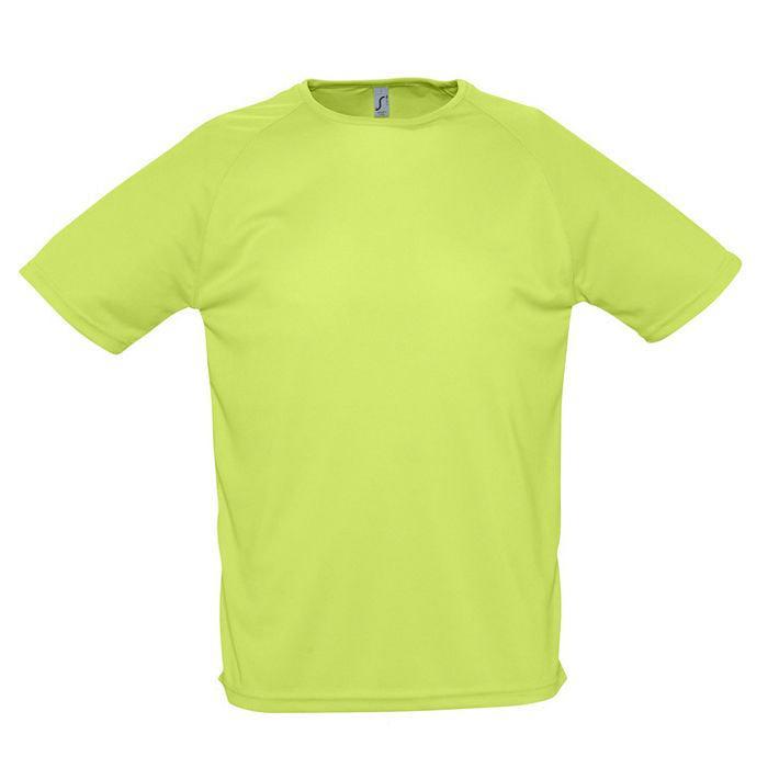 """Футболка """"Sporty"""", светло-зеленый_XL, 100% воздухопроницаемый полиэстер, 140 г/м2"""