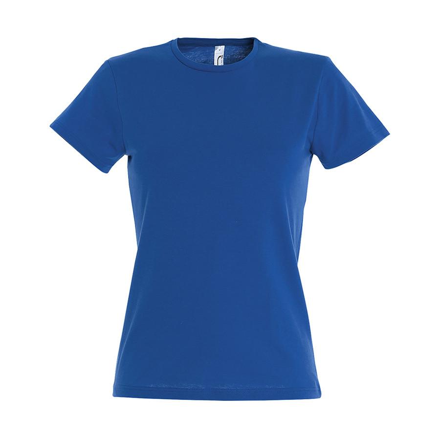 """Футболка """"Miss"""", ярко-синий_L, 100% х/б, 150 г/м2"""
