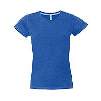 "Футболка женская ""California Lady"", синий, S, 100% хлопок, 150 г/м2, фото 1"