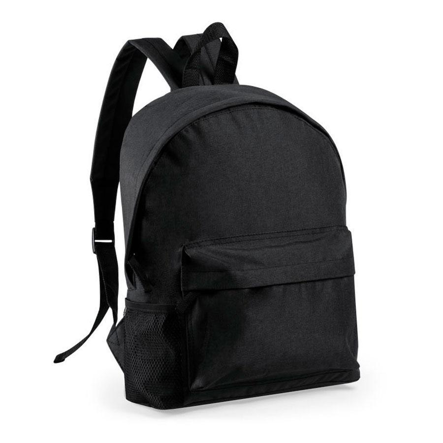 """Рюкзак """"Caldy"""", черный, 38x28x12 см, 100% полиэстер RPET, 600D"""