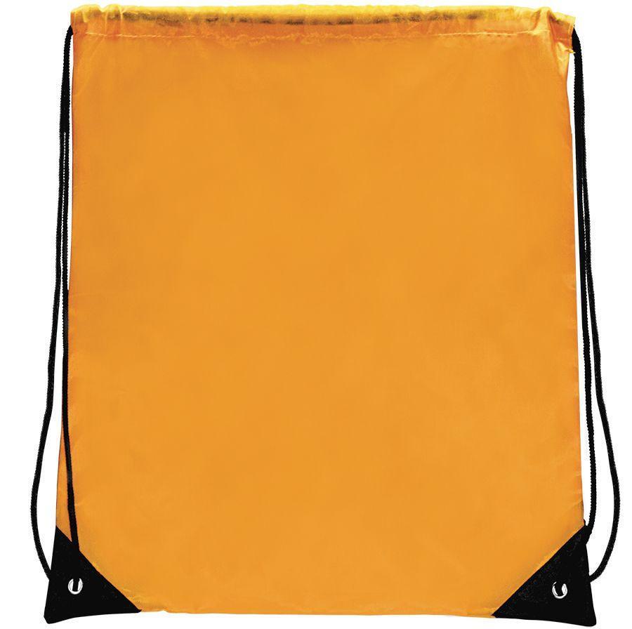 "Рюкзак ""Promo""; желтый; 33х38,5х1см; полиэстер"