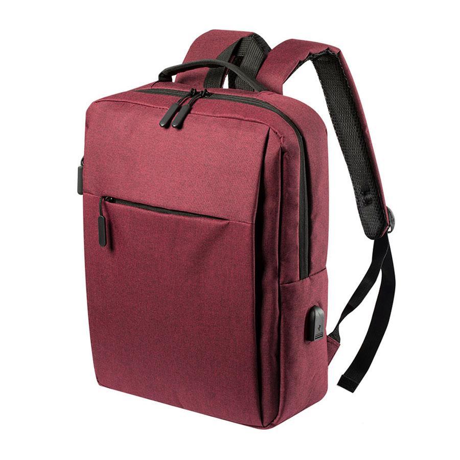 """Рюкзак """"Prikan"""", красный, 40x31x13 см, 100% полиэстер 600D"""