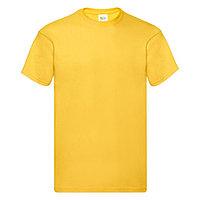 "Футболка ""Original Full Cut T"", желтый_S, 100% х/б, 145 г/м2, фото 1"