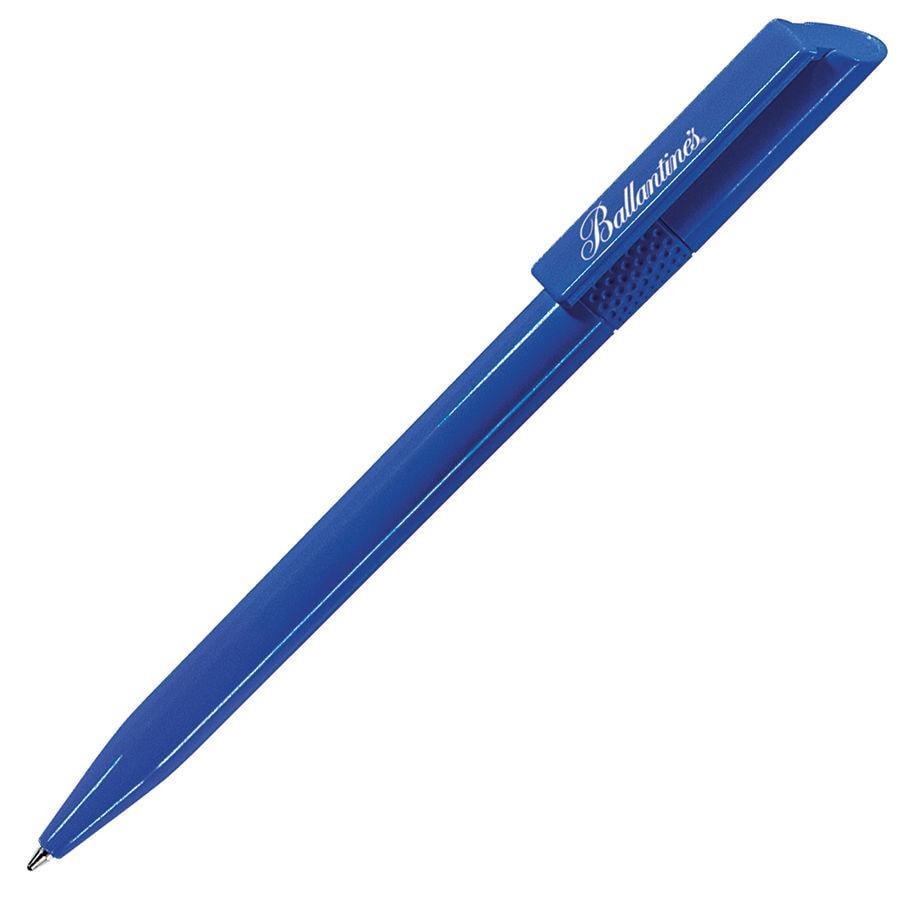 TWISTY, ручка шариковая, ярко-синий, пластик