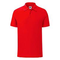 "Поло ""Iconic Polo"", красный, 2XL, 100% х/б, 180 г/м2, фото 1"