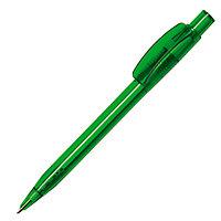Ручка шариковая PIXEL, зеленый, пластик