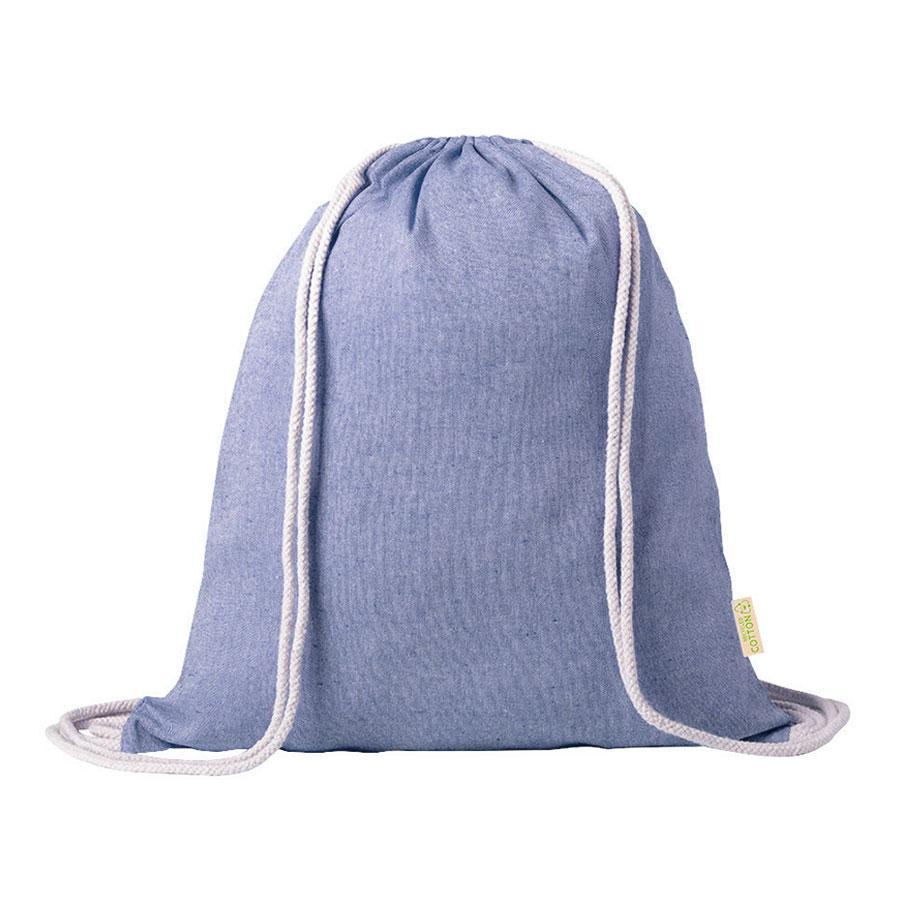 """Рюкзак """"Konim"""", синий, 42x38 см, 100% переработанный хлопок, 120 г/м2"""