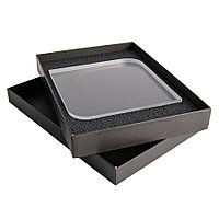 Награда QUADRA в подарочной коробке, матовые грани, 150х150х20 мм, акрил