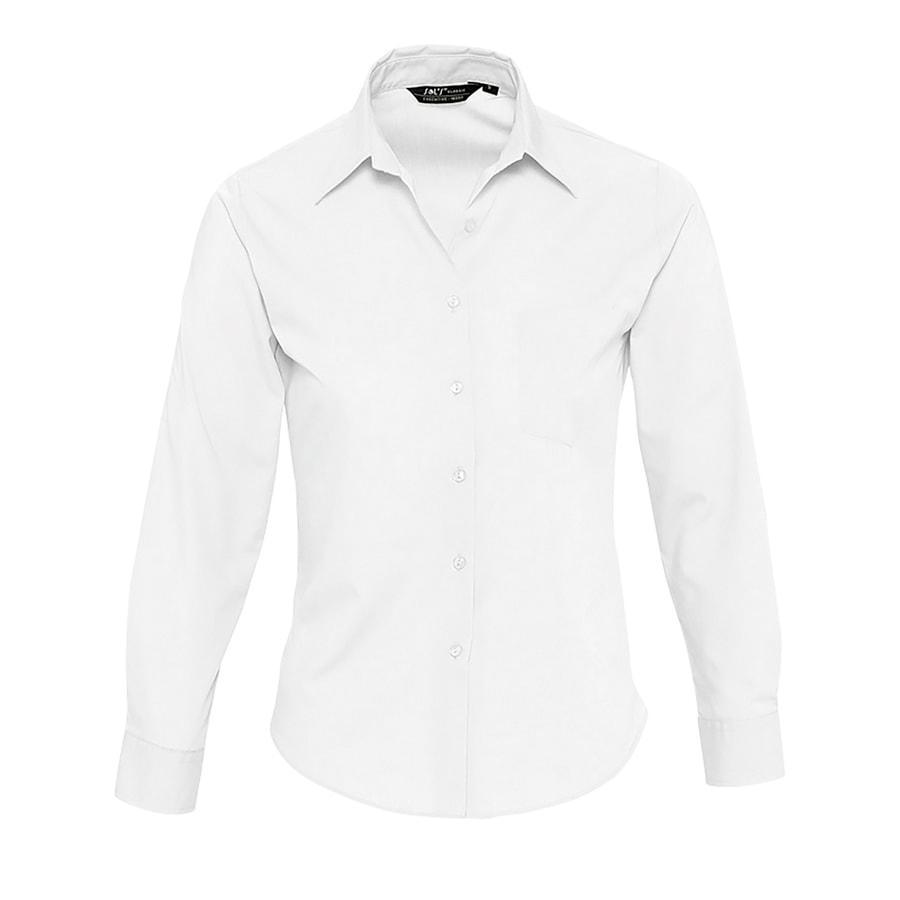 """Рубашка""""Executive"""", белый_L, 65% полиэстер, 35% хлопок, 105г/м2"""