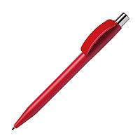 Ручка шариковая PIXEL CHROME, красный, пластик