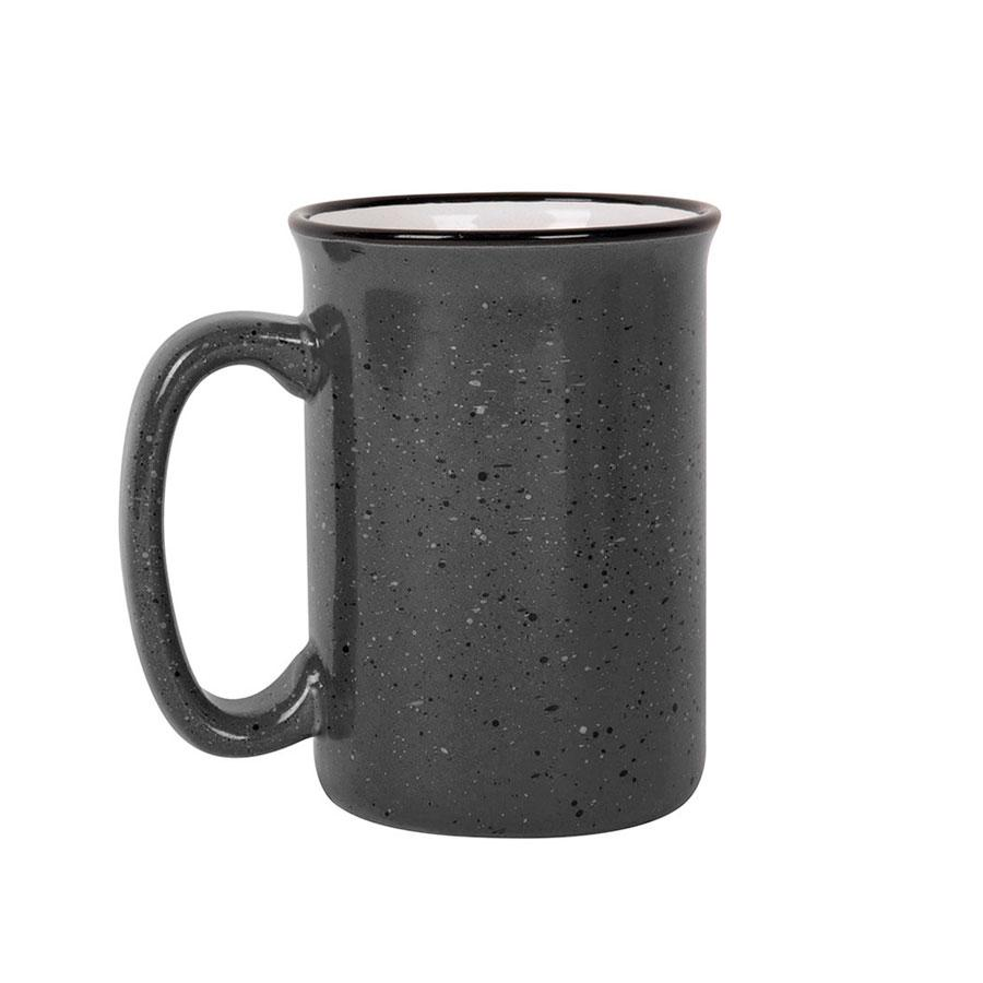 Кружка  UNIVERSE, темно-серый, 390мл, керамика