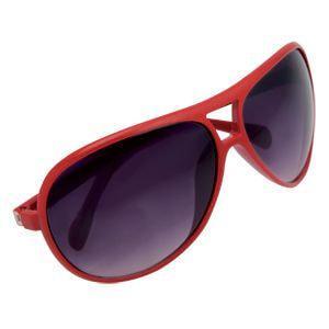 """Очки солнцезащитные """"Floid"""", UV 400; красный; пластик"""