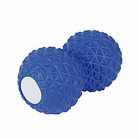 Массажер PEANUT, синий, 9x16,5 см, полиуретан, фото 1