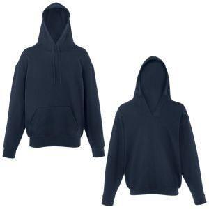 Толстовка Unique Hoodie, глубокий темно-синий_M, 80% хлопок, 20% полиэстер, 280 г/м2