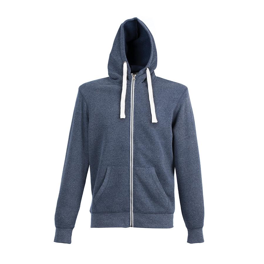 "Толстовка мужская ""CIPRO MAN"", синий меланж, XL, 65% полиэстер, 35% хлопок, 265 г/м2"