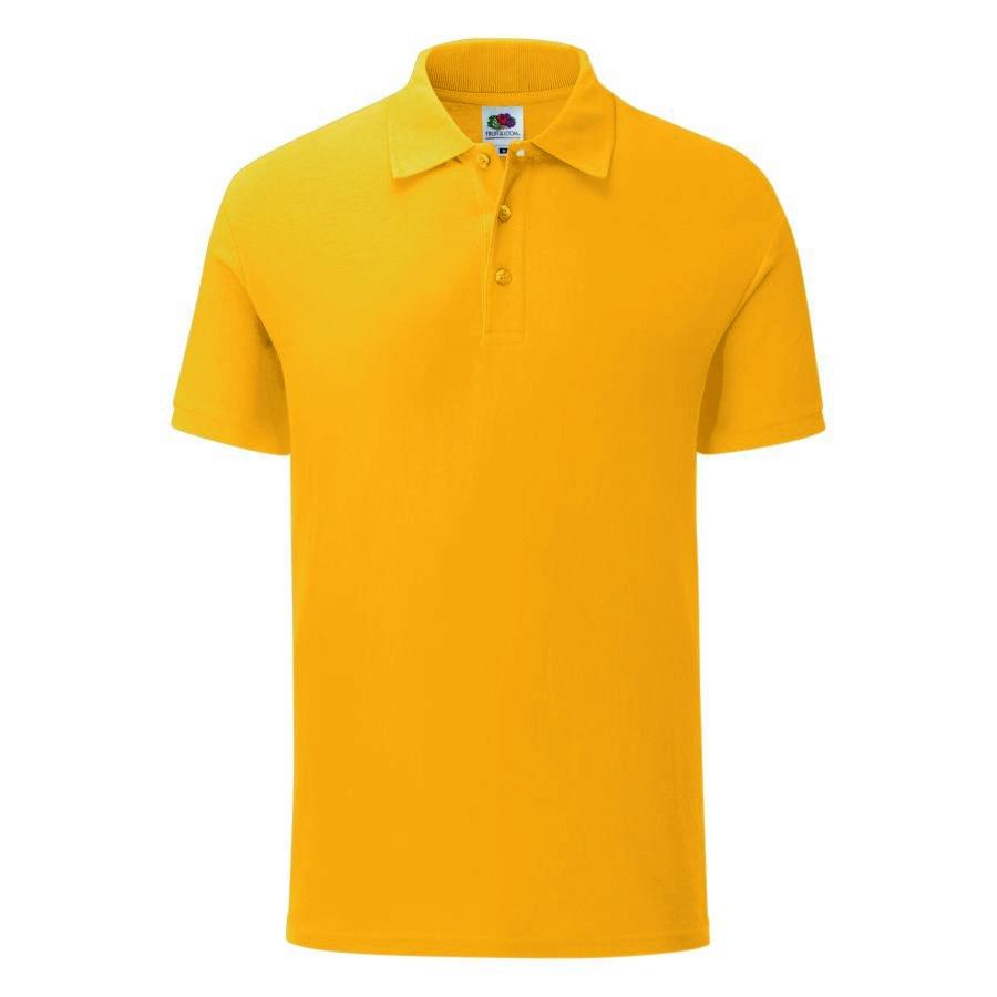 """Поло """"Iconic Polo"""", желтый, S, 100% х/б, 180 г/м2"""