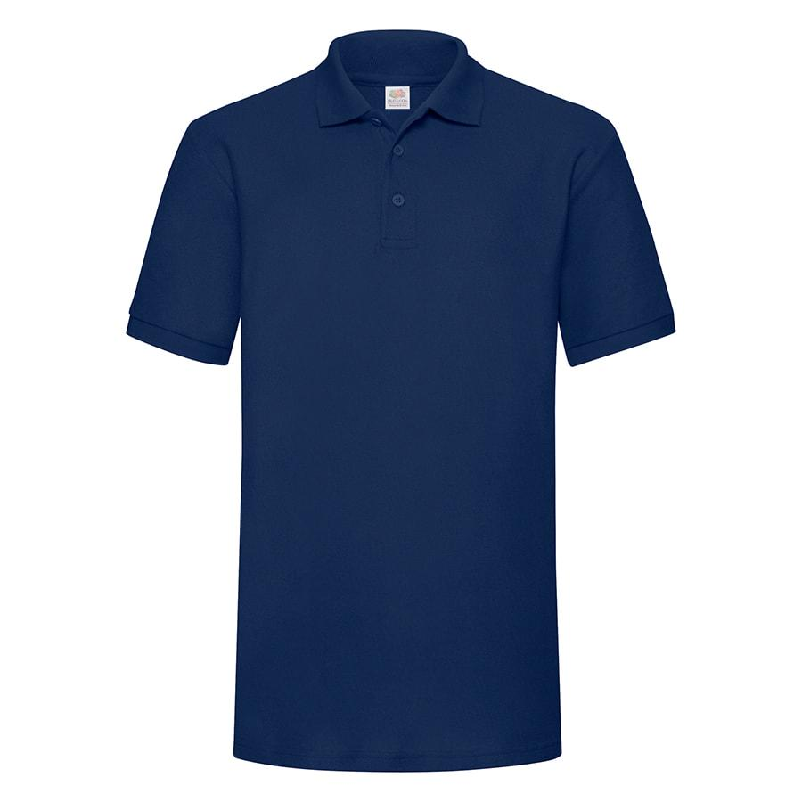 """Поло """"Heavy Polo"""", глубокий темно-синий_M, 100% хлопок, 240 г/м2"""