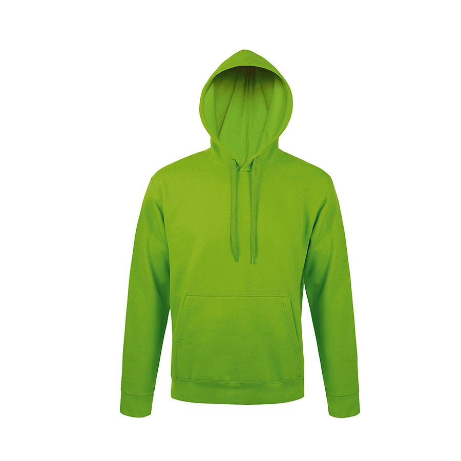 """Толстовка мужская """"Snake"""", ярко-зеленый_2XL, 50% хлопок, 50% полиэстер, 280 г/м2"""