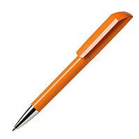 Ручка шариковая FLOW, оранжевый, пластик