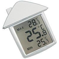 """Термометр на присоске """"Дом""""; 9х10х2,8 см; пластик"""