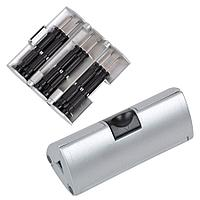 Набор отверток; серебряный; 9,5х4х4 см; пластик, металл