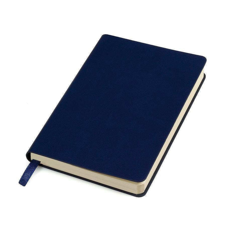 "Бизнес-блокнот ""URBAN"", 130 × 210 мм, синий,  мягкая обложка,  блок-линейка, тиснение"