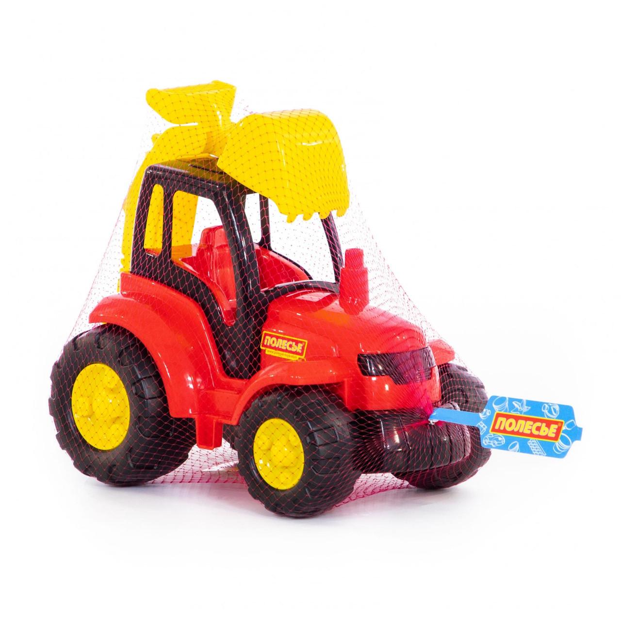 Игрушка трактор Чемпион с лопатой, Полесье - фото 2