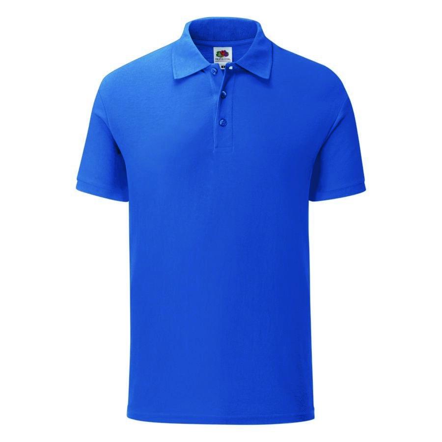 """Поло """"Iconic Polo"""", ярко-синий, 2XL, 100% х/б, 180 г/м2"""