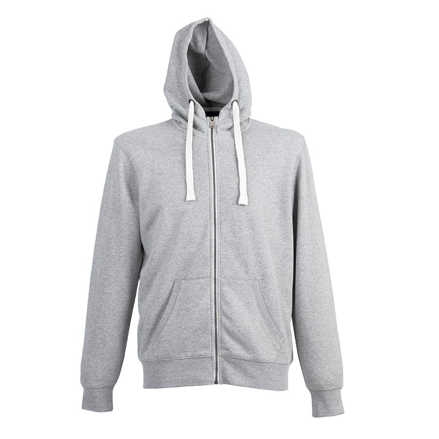 "Толстовка мужская ""CIPRO MAN"", серый меланж, XL, 65% полиэстер, 35% хлопок, 265 г/м2"