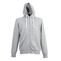 "Толстовка мужская ""CIPRO MAN"", серый меланж, XL, 65% полиэстер, 35% хлопок, 265 г/м2, фото 1"