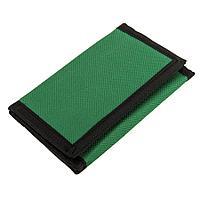 """Кошелек """"Smart""""; зеленый; 8х12,5х1 см; полиэстер"""