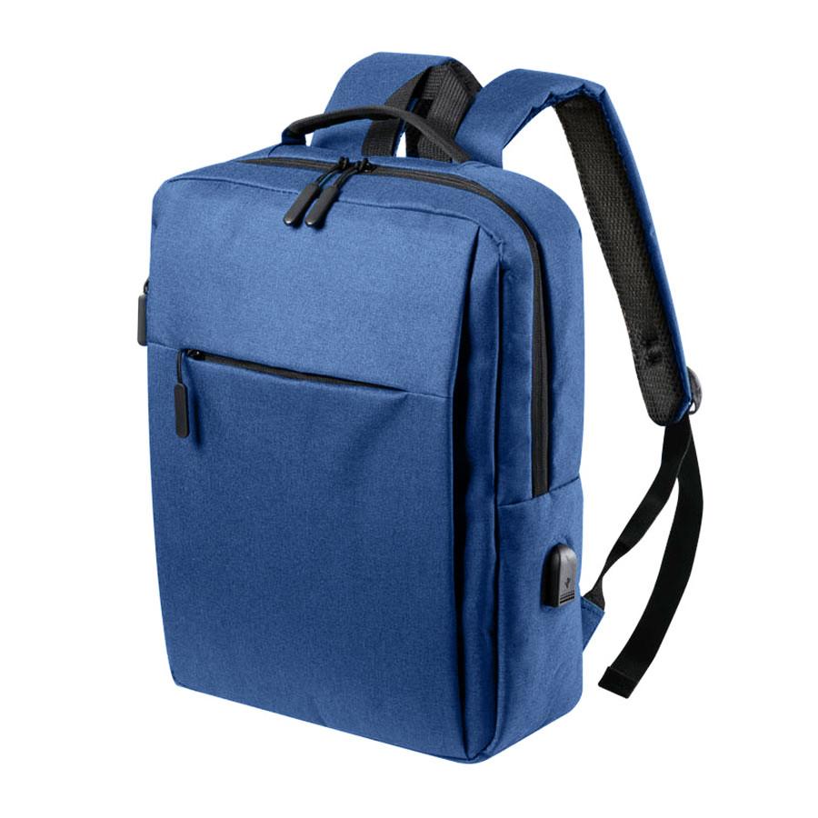 """Рюкзак """"Prikan"""", синий, 40x31x13 см, 100% полиэстер 600D"""