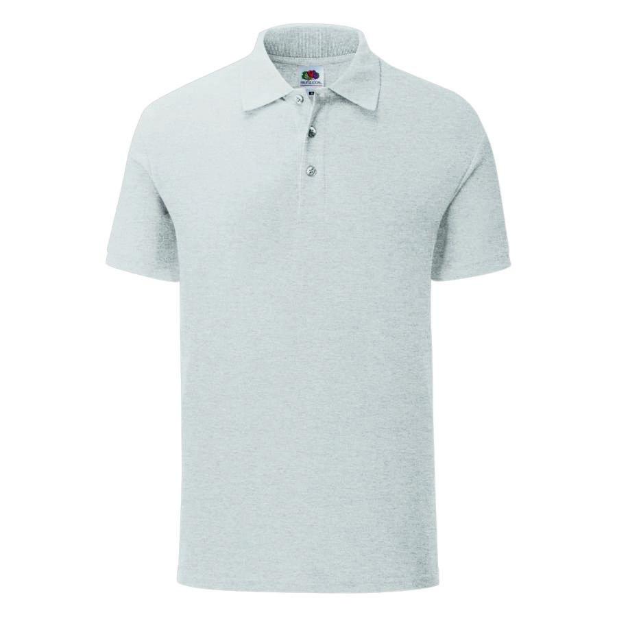 "Поло ""Iconic Polo"", серый, 2XL, 65% полиэстер 35% х/б, 180 г/м2"