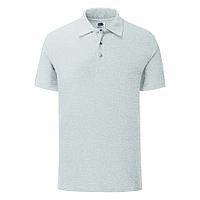 "Поло ""Iconic Polo"", серый, 2XL, 65% полиэстер 35% х/б, 180 г/м2, фото 1"