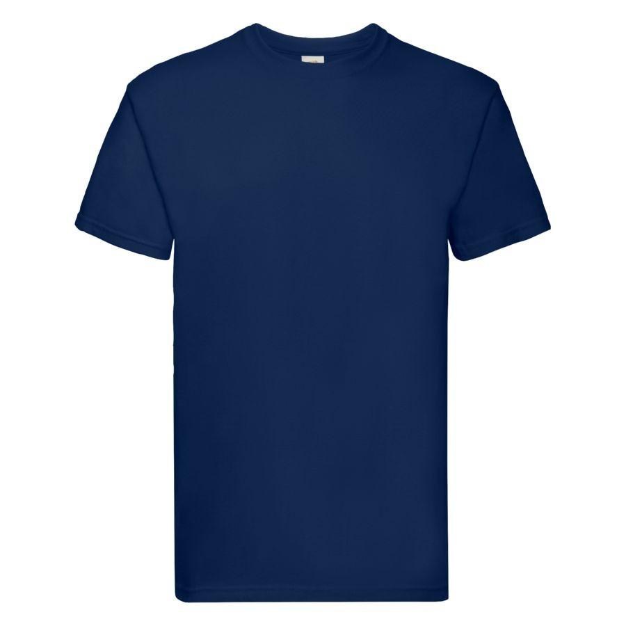 "Футболка мужская ""Super Premium T"", темно-синий_S, 100% х/б, 205 г/м2"