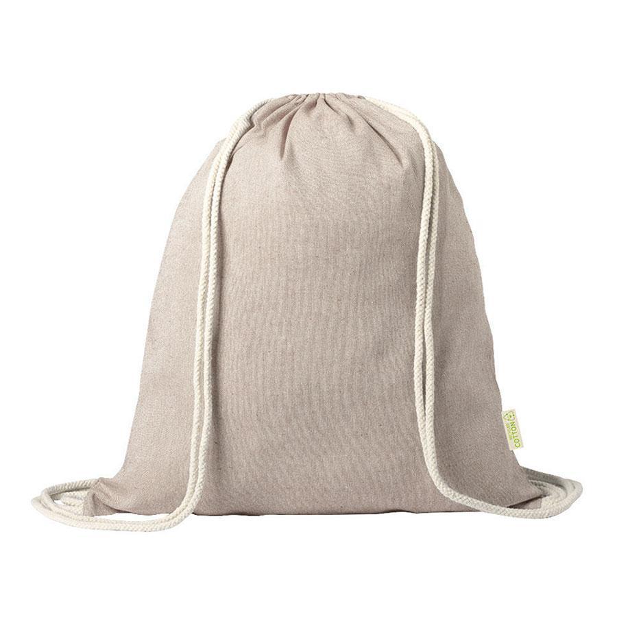 """Рюкзак """"Konim"""", бежевый, 42x38 см, 100% переработанный хлопок, 120 г/м2"""