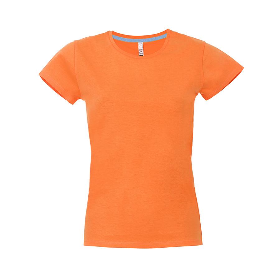 """Футболка женская """"California Lady"""", оранжевый, XL, 100% хлопок, 150 г/м2"""