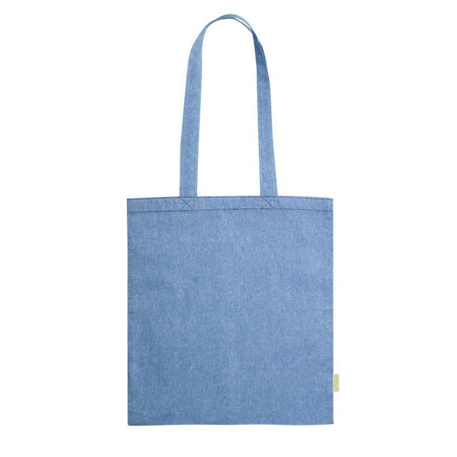 """Сумка для покупок """"GRAKET"""", синий, 42x38 см, 100% переработанный  хлопок, 120 г/м2"""
