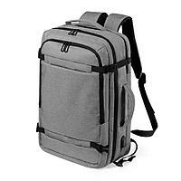 "Рюкзак ""Sulkan"", серый, 46x32x20 см, 100% полиэстер 600D , фото 1"