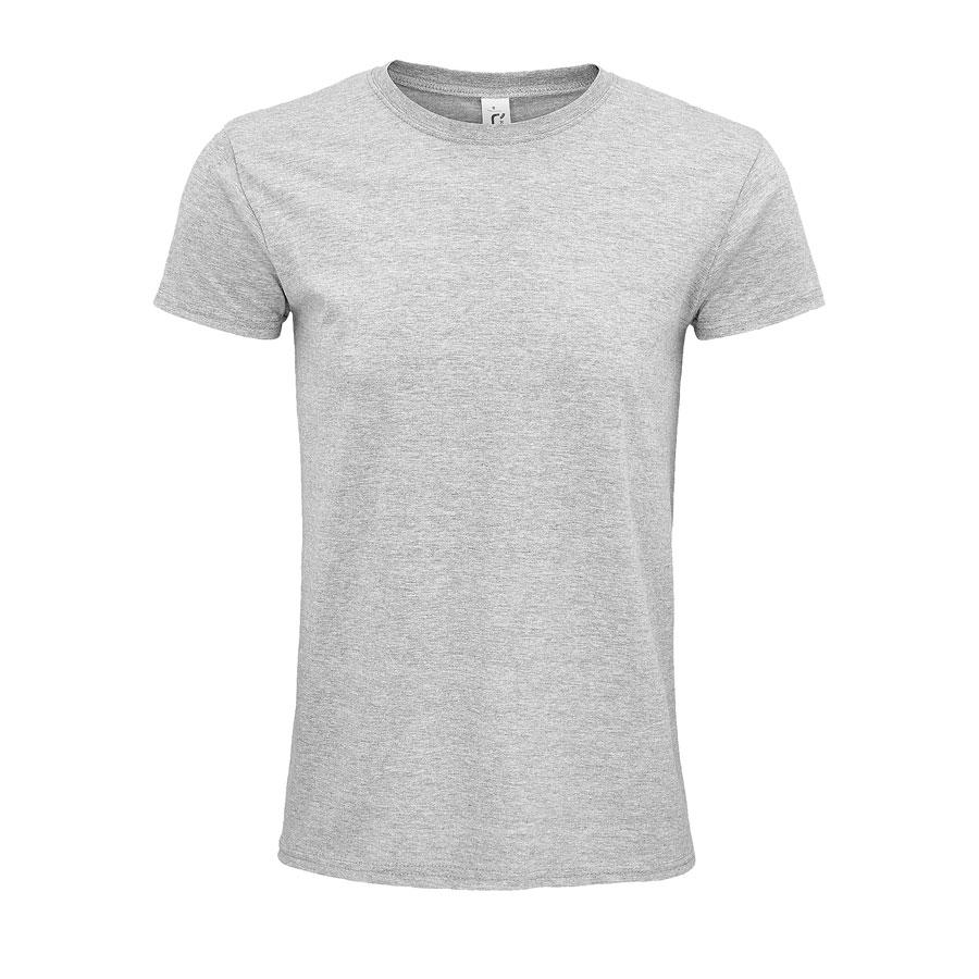 """Футболка мужская """"EPIC"""", серый меланж, S, 100% органический хлопок, 140 г/м2"""