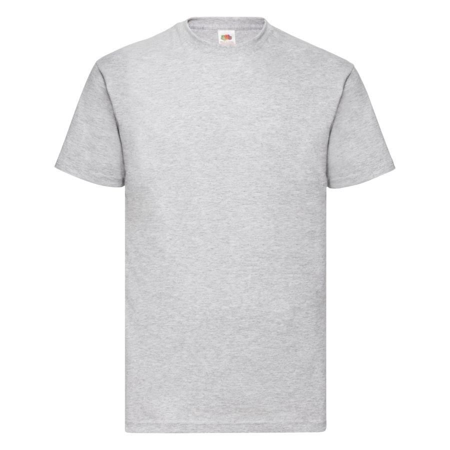 """Футболка мужская """"Valueweight T"""", серый меланж_M, 97% х/б, 3% п/э; 165 г/м2"""