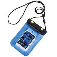 Футляр водонепроницаемый для мобильного телефона; 11,5х20 см; пластик