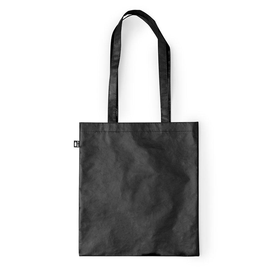 """Сумка для покупок """"Frilend"""", черная, 41x37 см, 100% полиэстер RPET"""