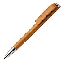 Ручка шариковая TAG, охра, пластик