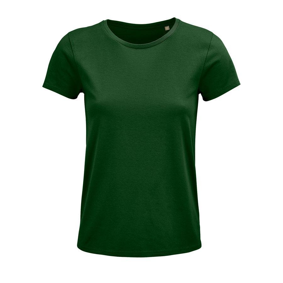 """Футболка женская """"CRUSADER WOMEN"""", темно-зеленый, 2XL, 100% органический хлопок, 150 г/м2"""