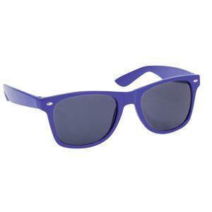 "Очки солнцезащитные ""Classic"", UV 400; синий; пластик"