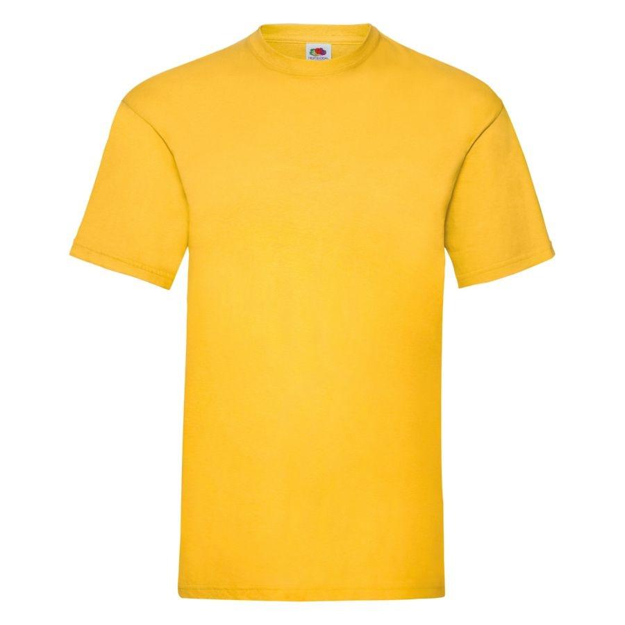 """Футболка мужская """"Valueweight T"""", солнечно-желтый_M, 100% х/б, 165 г/м2"""